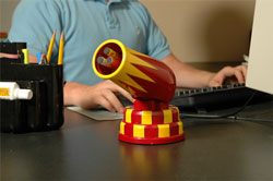 USB Cannon Defends your office with honor.