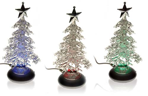 USB Christmas Tree colors