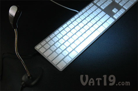 USB LED Desk Lamp is great for late night computing.