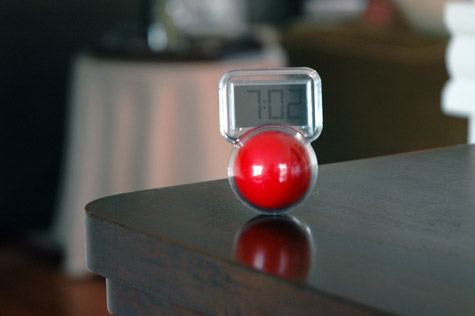 Wobble LCD Clock looks great in any decor